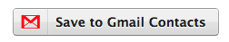 Save to Gmail Contacts Button