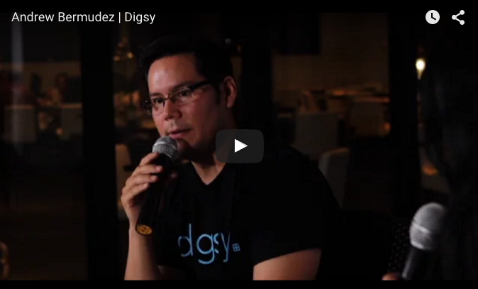 Watch Video on how to Fundraise for your Startup - Startup Grind - Digsy and Andrew Bermudez, CEO