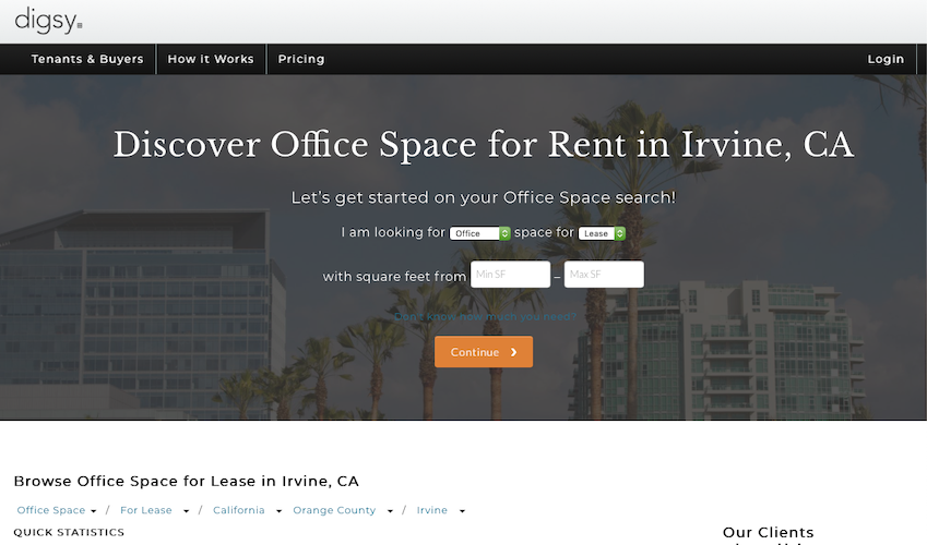 Office Space for Rent | Digsy
